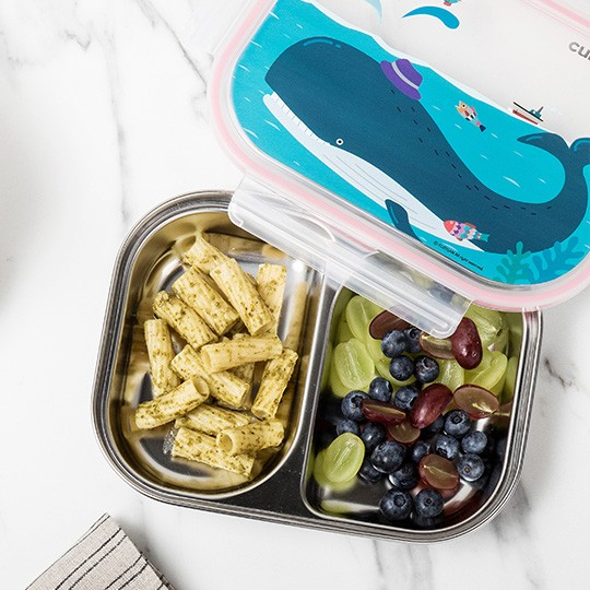Infant 2 Compartment Food Tray