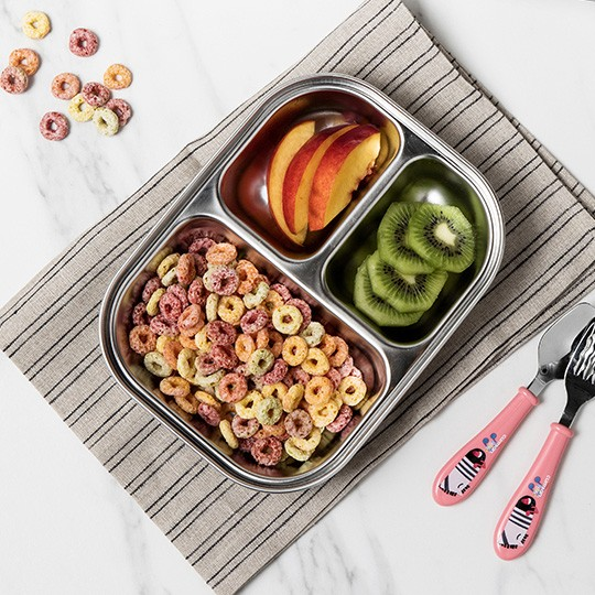 Infant 3 Compartment Food Tray